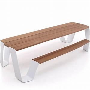 Table Pour Terrasse : table pour jardin et terrasse exterieure design hopper extremis ~ Teatrodelosmanantiales.com Idées de Décoration