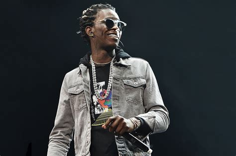 young thug cleared  felony drug gun charges report