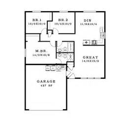 Of Images Simple One Floor House Plans by Simple House Plan 9 Simple House Floor Plan