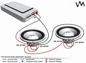 4 Ohm Subwoofer Wiring Diagram Mono Svc 2
