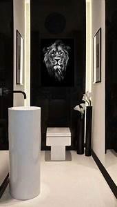 Tableau Deco Noir Et Blanc : ce week end je d core mes wc blog izoa ~ Melissatoandfro.com Idées de Décoration