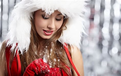 sexy santa girl sexys christmas female pinterest