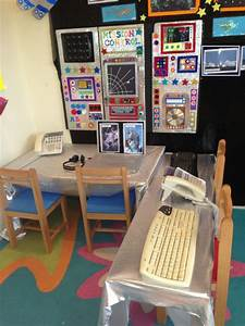 Mission Control to Space Classroom Role-Play Area Photo ...