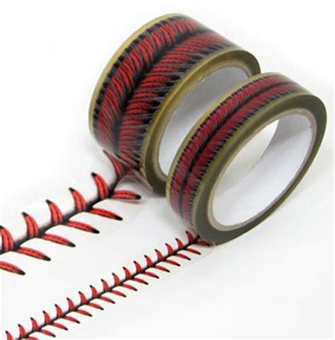 baseball stitches design tape set softball pinterest