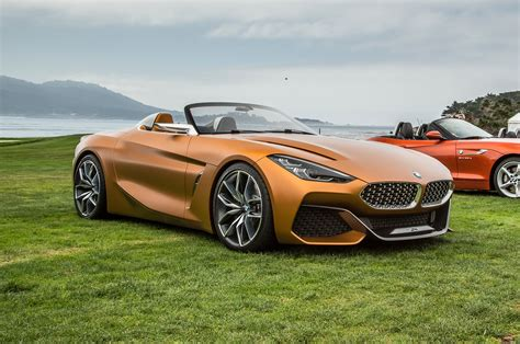 Bmw Concept Z4 Unveiled In Monterey
