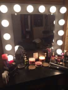 Vanity Mirror With Light Bulbs Around It by Vanity Mirror With Lights 9 Steps