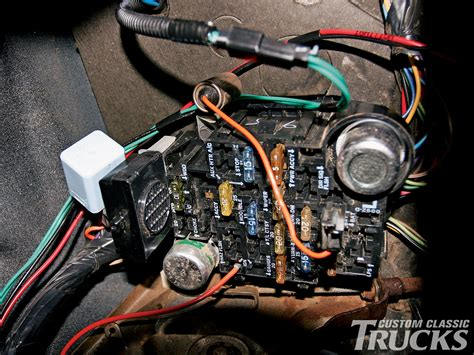 1985 Cj7 Firewall Wiring Diagram by 1979 Chevy C10 Led Taillight Conversion Kit Install
