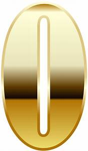 Gold Number Zero PNG Image Gallery Yopriceville High