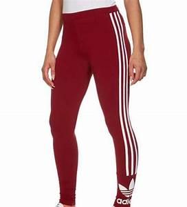 Leggings red white trefoil adidas original adidas originals jd sports 3 stripes - Wheretoget