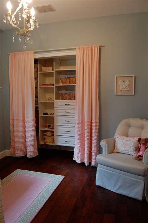 remove closet doors put up curtains build new shelves
