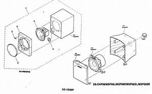 Sony Speaker System Parts