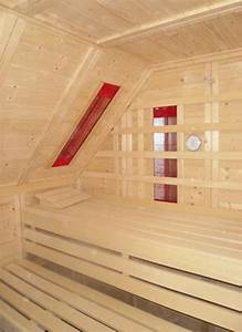 Mit Erkältung In Die Sauna : sauna mit dachschr ge ~ Frokenaadalensverden.com Haus und Dekorationen