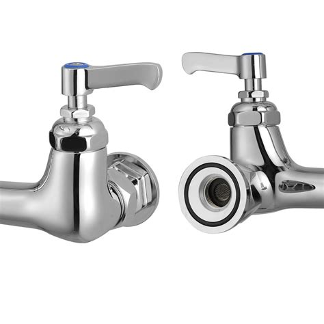 restaurant kitchen faucet commercial kitchen restaurant 8 quot center splashmount