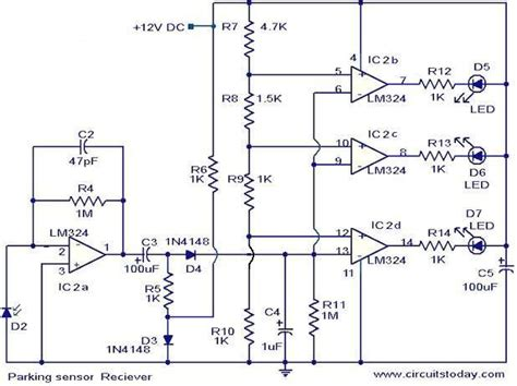 parking sensor circuit todays circuits engineering