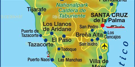 map  la palma island  spain welt atlasde
