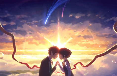 Kimi No Na Wa Your Name The In 1 Dvd 16 9 Subs End Makoto Shinkai Kimi No Na Wa Wallpaper Hd Free