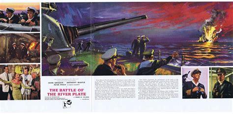 BATTLE OF THE RIVER PLATE Original Movie Trade Ad John ...