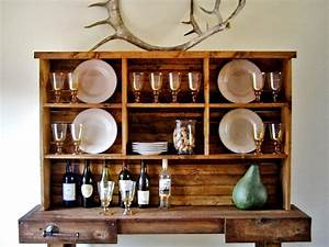 Instant Rustic Storage and Style With a DIY Hutch HGTV