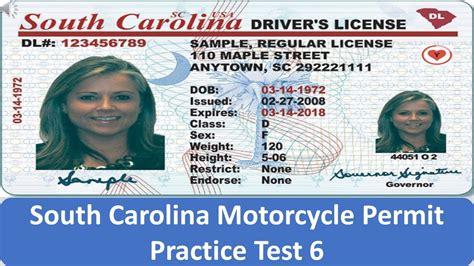South Carolina Motorcycle Permit Practice Test 6 Youtube