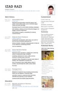 school social worker intern resume social media intern resume sles visualcv resume sles database