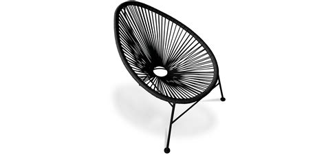 horloge murale de cuisine fauteuil acapulco piétement noir pas cher