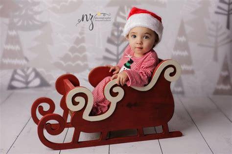 sleigh photo prop christmas photo prop newborn photo