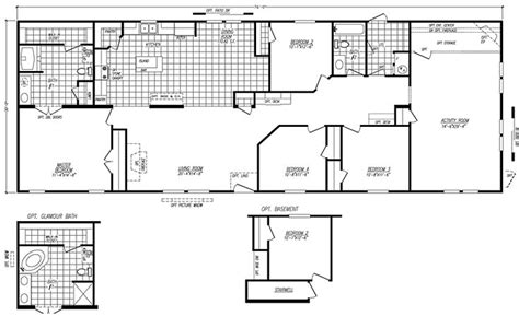 fleetwood mobile home floor plans  prices manufactured home  mobile home floor plans