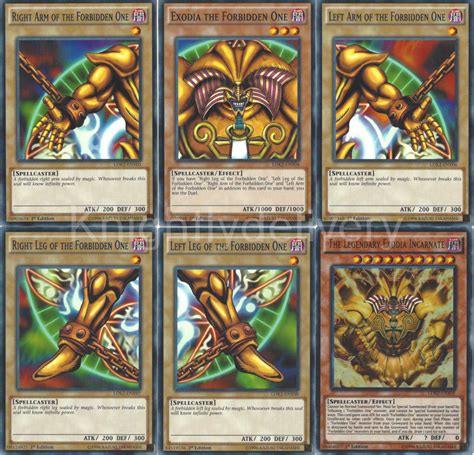 Exodia Deck List 2017 by Exodia 2017 Deck Obliterate Incarnate Gold