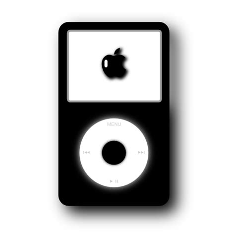ipod clipart black and white ipod png black and white transparent ipod black and white