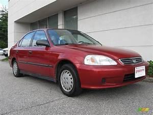 1999 Honda Civic : 1999 inza red pearl honda civic lx sedan 16030148 photo 2 car color galleries ~ Medecine-chirurgie-esthetiques.com Avis de Voitures