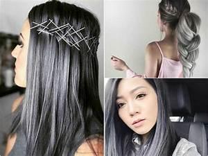 Couleur Cheveux Tendance : cheveux charbon la coloration tendance femme actuelle ~ Nature-et-papiers.com Idées de Décoration