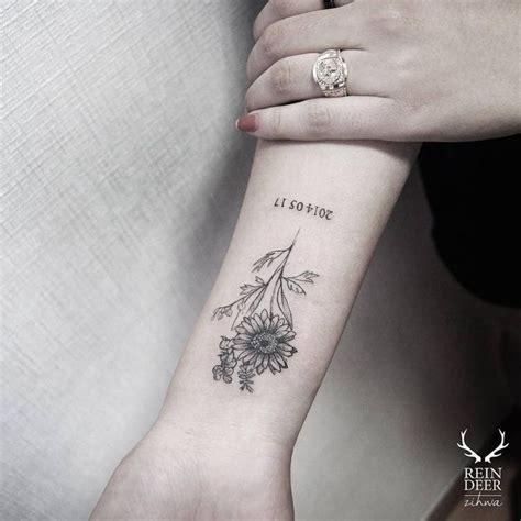 Small Flower Tattoos On Arm Elaxsir