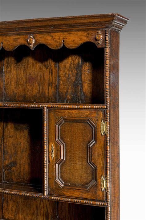 mid  century oak dresser  rack