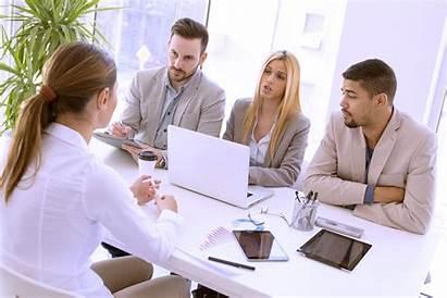 Job Interview Hiring Entrevue Emploi Baan Gesprek
