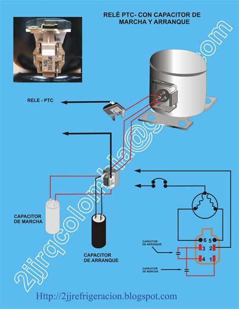 solucionado como va conectado el capacitor de arranque en heladera comci yoreparo