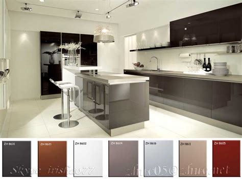unfinished kitchen base cabinets factory low price wholesale high gloss acrylic kitchen