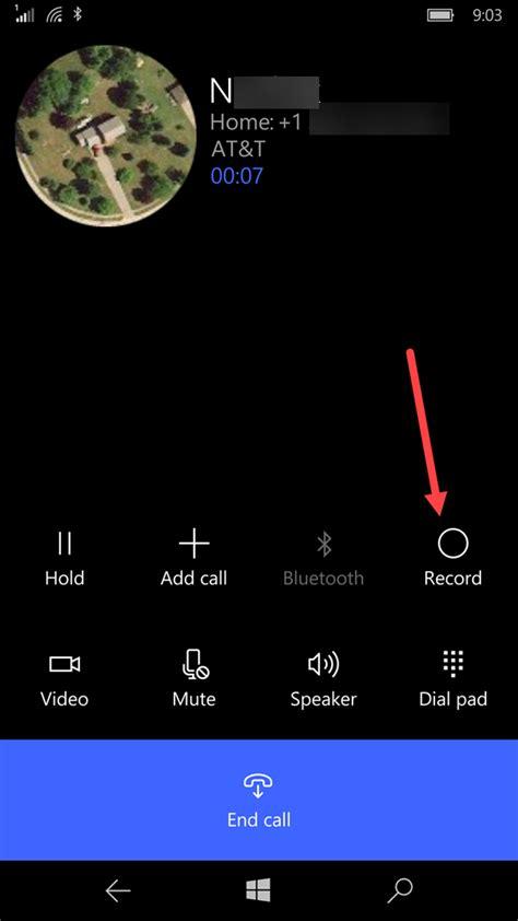 record a phone call windows phone lumia 640 xl dual sim