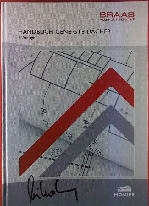 Handbuch Geneigtes Dach by Handbuch Geneigte Dcher Pdf