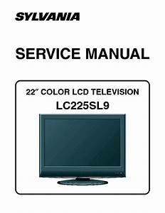 Sylvania Lc225sl9 Lcd Tv Sm Service Manual Download