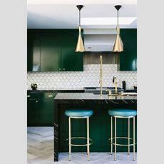 Inspiration Emerald Green Kitchens  Lark & Linen