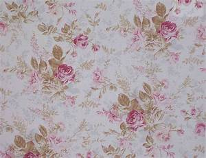 Vintage Fabric Floral : Designer Cotton Fabric ...