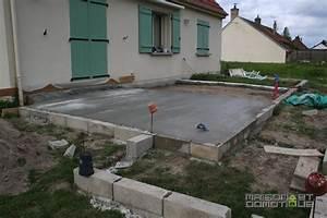 Epaisseur Dalle Maison : charmant epaisseur dalle beton maison 3 les travaux de ~ Premium-room.com Idées de Décoration