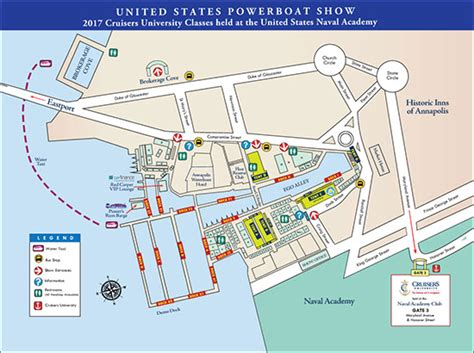 Annapolis Sailboat Show Layout by Show Layout 2017 Annapolis Boat Shows