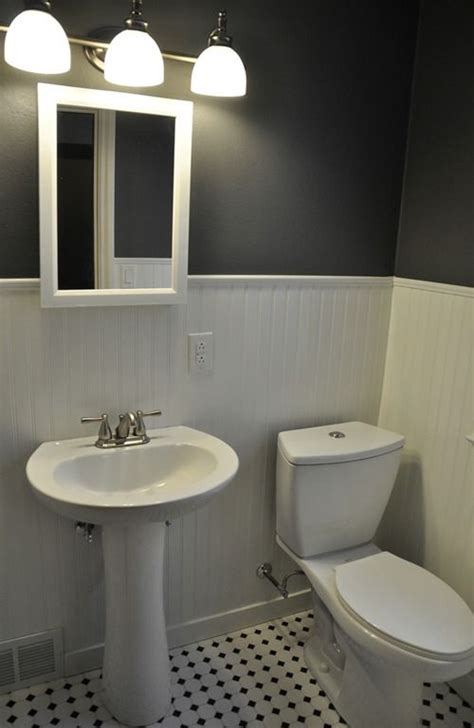 Beadboard And Tile Bathroom by Pink Bathroom Makeover What About Furniture Bathroom