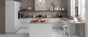 Cuisine Beige Et Bois : cuisines am nag es gamme luxo hd cuisines ~ Dailycaller-alerts.com Idées de Décoration