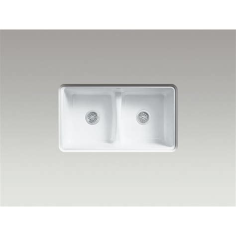Deerfield Kohler Smart Divide Sink by Kohler Deerfield Smart Divide 5838 0