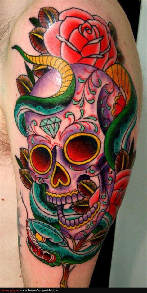 tattoo design  sugar skull tattoos tattoomagz