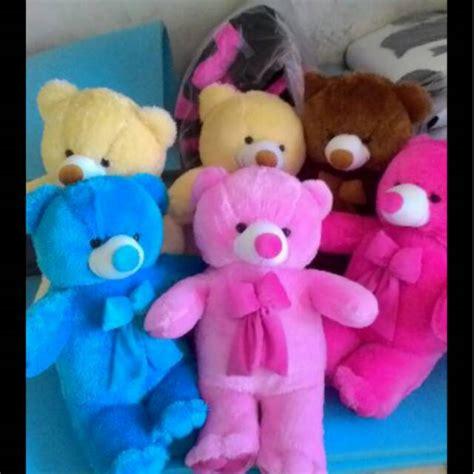murah meriahteddy lucu boneka teddy lucu varian warna 80 cm silahkan pilih
