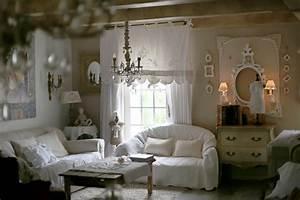 Salon Classique Chic : d coration romantique et shabby chic my little home in france classique chic salon ~ Dallasstarsshop.com Idées de Décoration