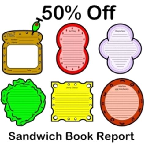 sandwich book report
